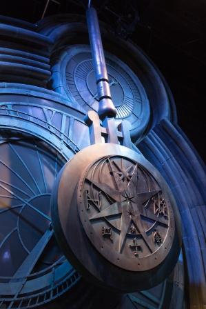 Horloge de Poudlard - Studio Harry Potter