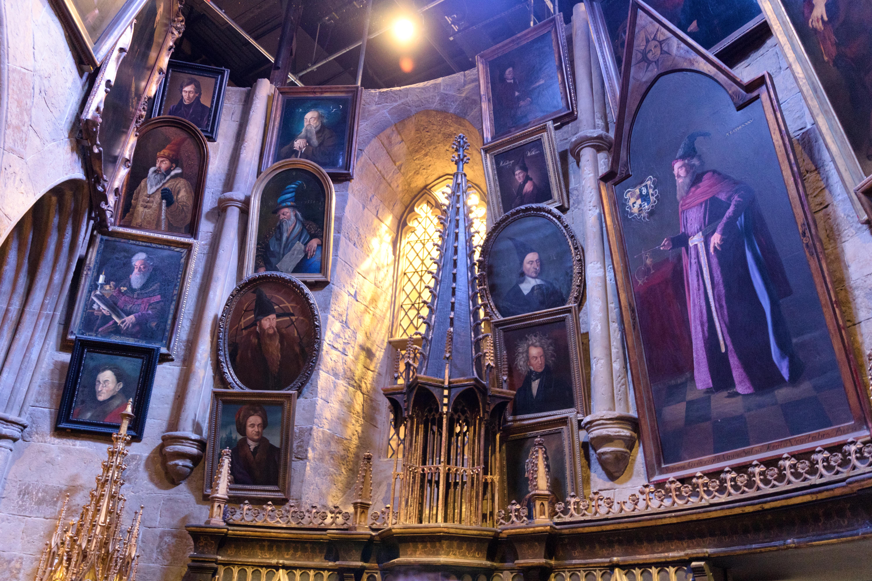 Les tableaux vivants de Poudlard - Studios Harry Potter