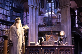 Bureau de Dumbledore - Studios Harry Potter