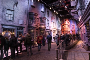 Chemin de traverse - Studios Harry Potter