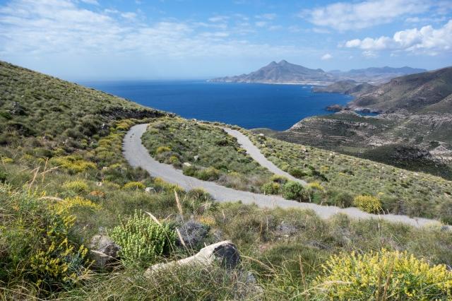 Parc naturel Cabo des Gata - vue mer