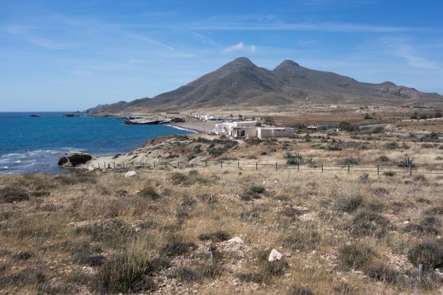Les volcans éteins du parc naturel Cabo de Gata