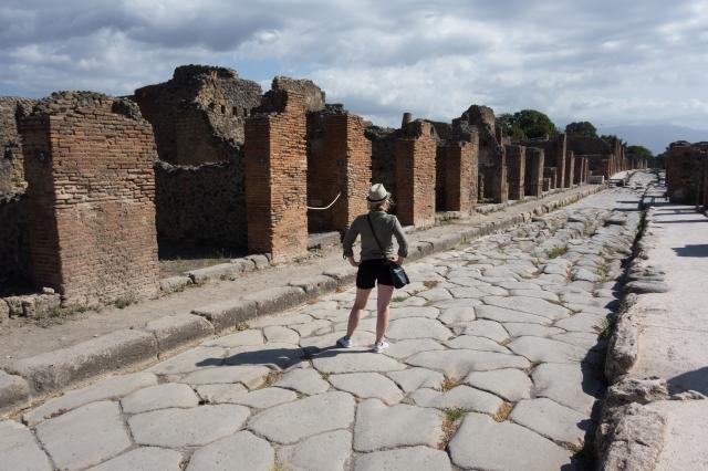 Les allées de Pompéi