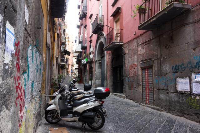 Ruelle du centre historique de Naples