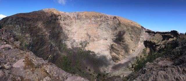 Le Vésuve, célèbre volcan