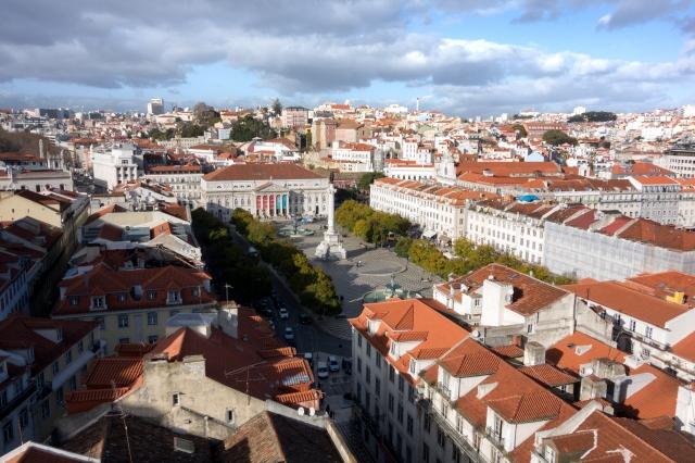 Lisbonne : vue sur la ville
