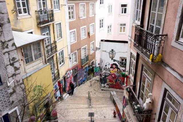 Lisbonne : fresque du fado