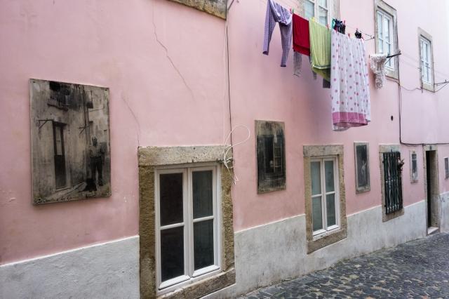Lisbonne : quartier de l'Alfama