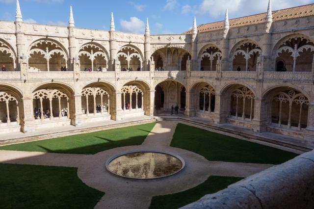 Lisbonne - Belem : Monastère des Hiéronymites